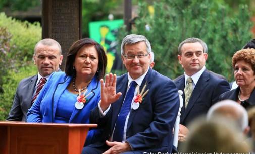 Dożynki Prezydenckie Spała 2013 -foto i wideo relacja