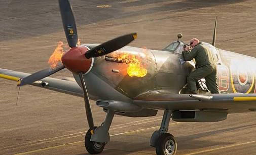 Legendarny Spitfire Supermarine na lotnisku w Piotrkowie. Piknik lotniczy już w ten weekend