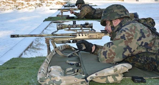 Szkolenie ogniowe w 25 Brygadzie Kawalerii Powietrznej