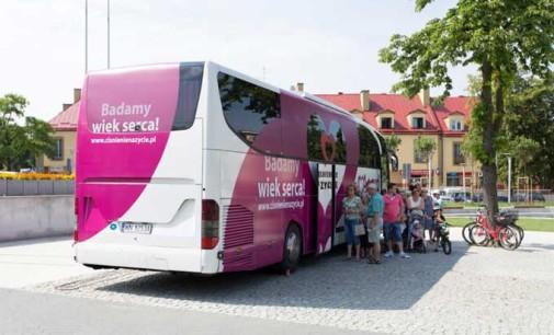 """Bus kampanii """"Ciśnienie na życie"""" w Tomaszowie Mazowieckim!"""