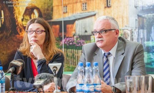 Minister w Grotach o torze lodowym i Zalewie Sulejowskim