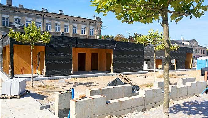 Rewitalizacja Placu Kościuszki w Tomaszowie Mazowieckim