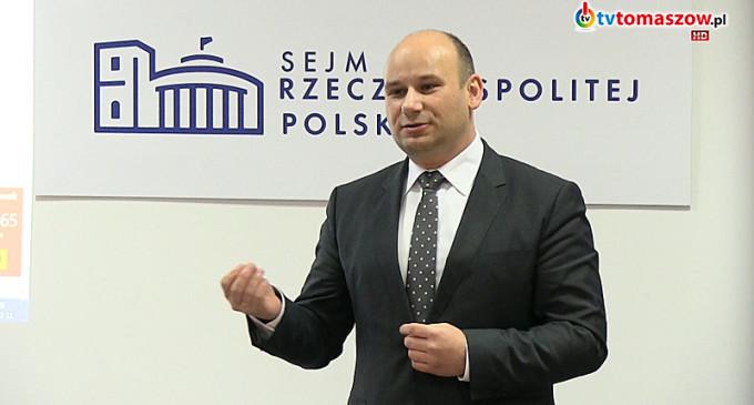 Marcin Witko kandydatem PiS na prezydenta Tomaszowa