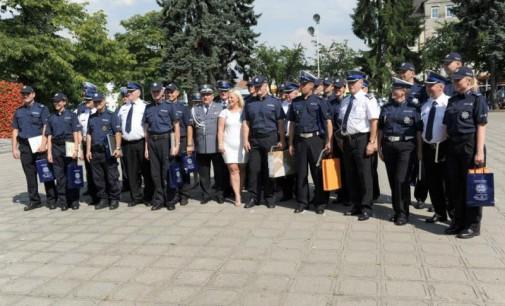 Święto Policji w Tomaszowie. Marta Mysur 5 w plebiscycie na Policjanta Roku
