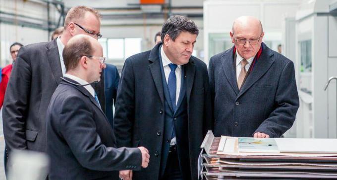 Wicepremier Piechociński z wizytą w Grupie Paradyż