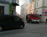 Pożar w mieszkaniu na Polnej