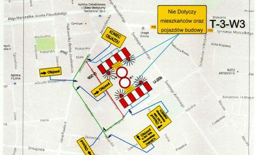 Rusza przebudowa ulic: Polna, Szkolna, Żwirki Wigury oraz BGW
