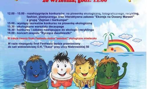 """Finał I Tomaszowskiego Festiwalu Ekologicznego """"REJS NA CZYSTĄ WYSPĘ 2014"""""""