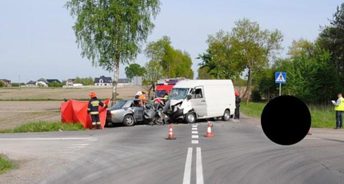 Śmiertelny wypadek w Łaznowskiej Woli