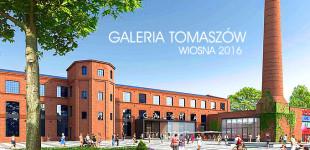 Galeria handlowa w Tomaszowie wiosną 2016 roku (wideo)