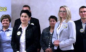"""KWW """"Możemy"""" przedstawił kandydatów na radnych. Agnieszka Łuczak powalczy o fotel prezydenta (wideo)"""