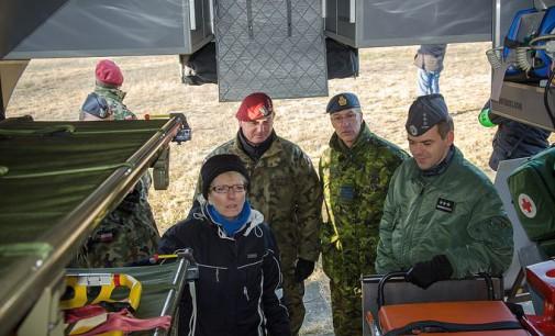 Wizyta ambasador Kanady w 25. Brygadzie Kawalerii Powietrznej
