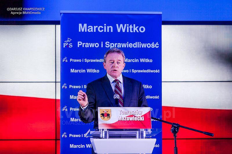 Jarosław Kaczyński w Tomaszowie Mazowieckim