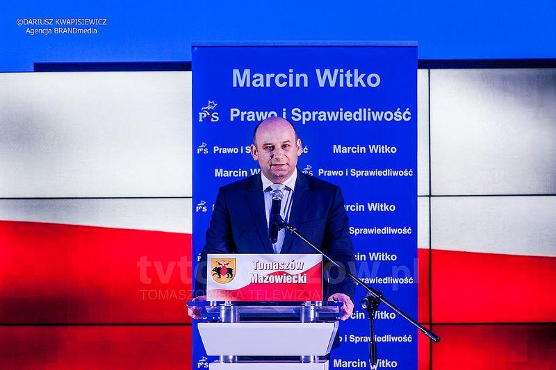 Marcin Witko Kandydat na prezydenta Tomaszowa Mazowieckiego
