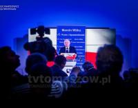 Jarosław Kaczyński wsparł w Tomaszowie Marcina Witko