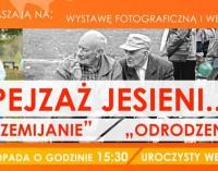 """""""PEJZAŻ JESIENI…"""" – wystawa fotograficzna w bibliotece"""