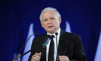Jarosław Kaczyński na spotkaniu otwartym w Tomaszowie