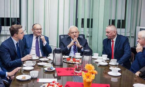 Wybory samorządowe 2014. Leszek Miller wsparł SLD w Tomaszowie (wideo)