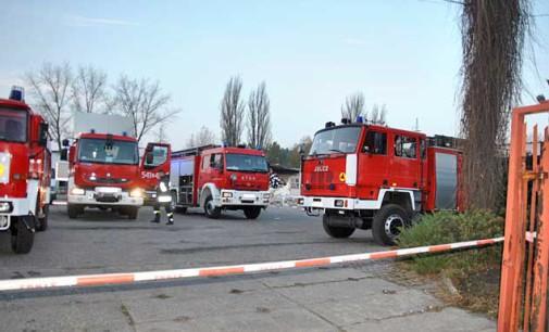 Wybuch gazu na ul. Farbiarskiej