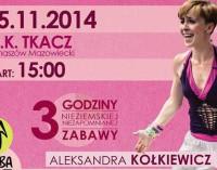 Zapraszamy na sobotni maraton Zumby w Tkaczu!