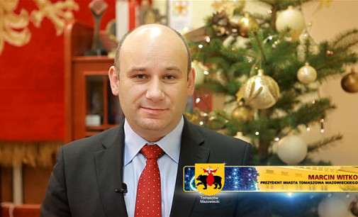 Życzenia świąteczno-noworoczne od Prezydenta Miasta Tomaszowa Mazowieckiego