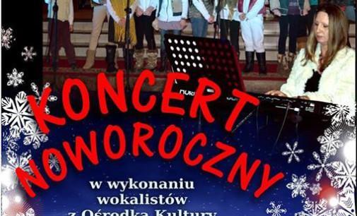 """Koncert Noworoczny wokalistów z """"Tkacza"""""""