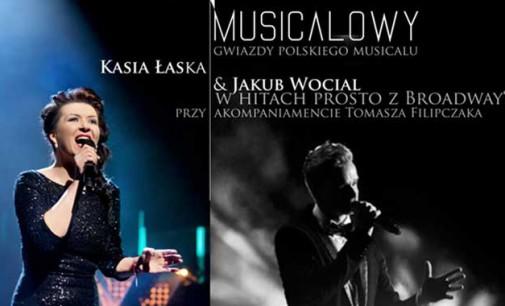 Katarzyna Łaska i Jakub Wocial na koncercie w Tomaszowie. Zapraszamy!