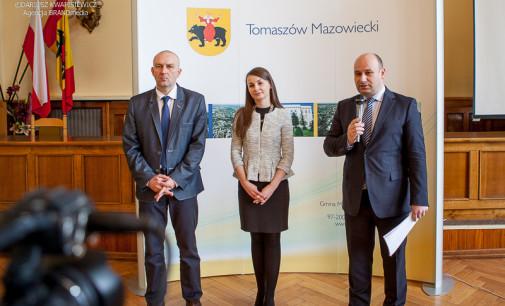 Zofia Szymańska i Tomasz Jurek nowymi wiceprezydentami Tomaszowa. Prezydent przedstawił też nowy zarząd ZGWK
