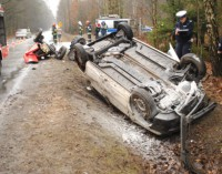 Tragiczny wypadek na drodze W-713 Tomaszów – Opoczno