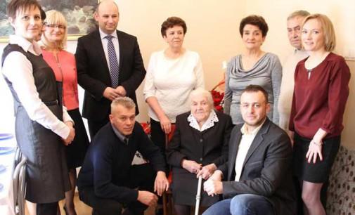 Pani Stanisława świętowała 100 lat