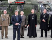 Spotkanie wielkanocne Prezydenta RP z żołnierzami Wojska Polskiego w 25BKPow.