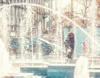 Fontanny na placu Kościuszki już działają