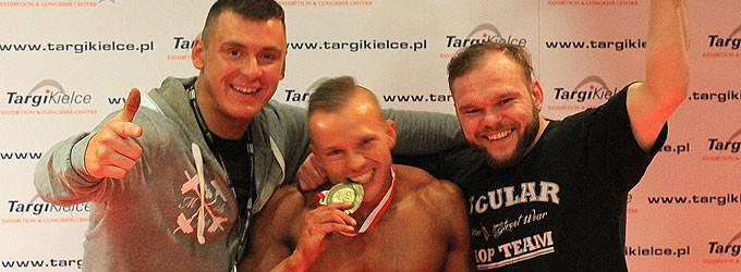Tomaszowianin brązowym medalistą Mistrzostw Polski w Kulturystyce