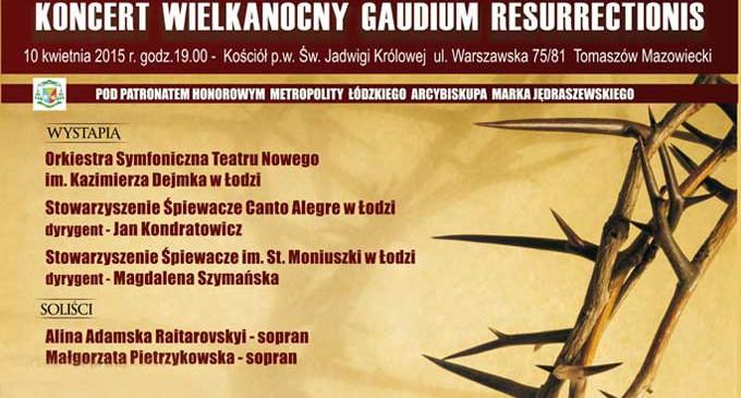 Koncert Wielkanocny w Tomaszowie Mazowieckim