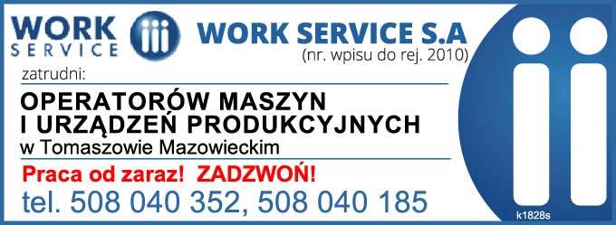 praca  w Tomaszowie Mazowieckim