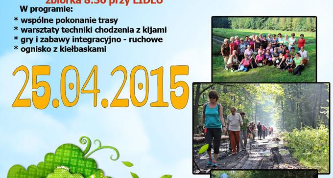 Zapraszamy na Wiosenny Rajd Nordic Walking