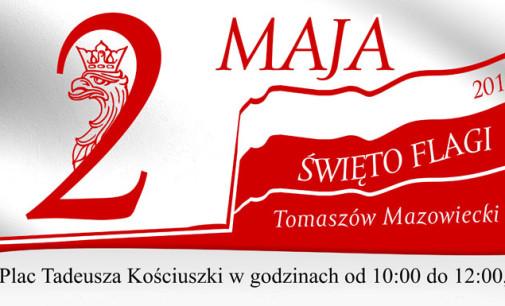 Dzień Flagi Rzeczypospolitej na płycie Placu Kościuszki