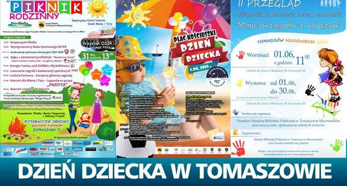 Dzień Dziecka w Tomaszowie. Gdzie się wybrać? (plakaty)