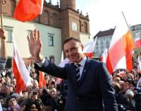 Andrzej Duda podsumuje kampanię prezydencką w Tomaszowie