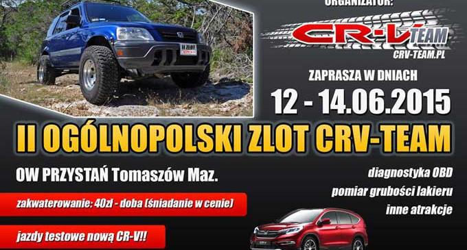 W sobotę na ul.PCK – II Ogólnopolski Zlot Honda CRV Team