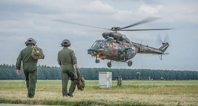 Kawaleria Powietrzna: szkolenie lotnicze 7 dywizjonu