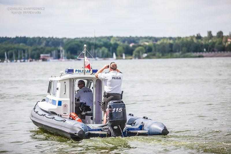 Policja konna i wodna 13 lipca 2012 zalew-403