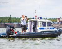 Policja na wodach Zalewu Sulejowskiego