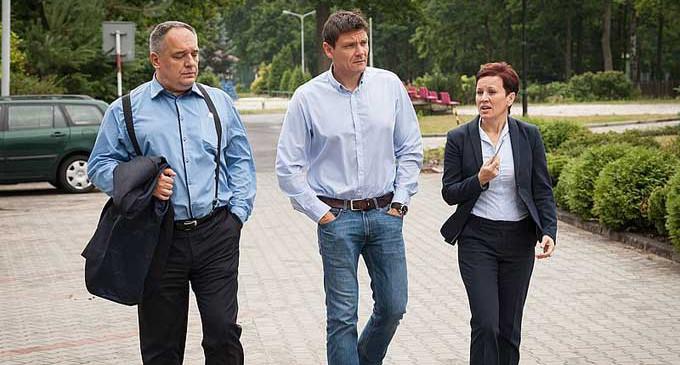 Minister Sportu Adam Korol z wizytą w COS Spała