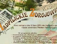 """""""Nadpilckie zdrojowiska"""" – wystawa i piknik w skansenie"""