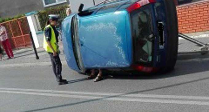 Kierowca miał prawie 4 promile!
