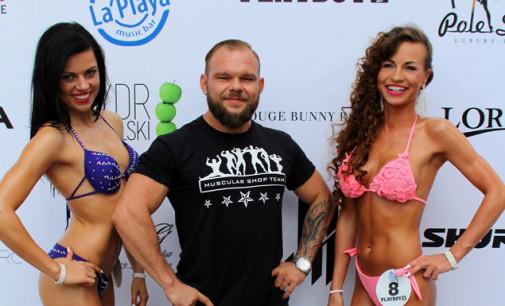 Reprezentantka tomaszowskiego klubu w czołówce fitness modelingu