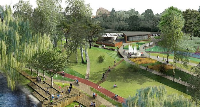 Tak będzie wyglądał Park Bulwary?