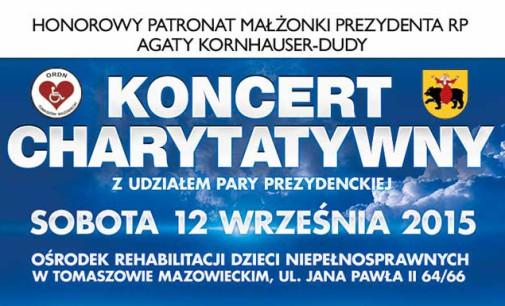 Koncert Charytatywny na rzecz dzieci autystycznych z udziałem pary prezydenckiej