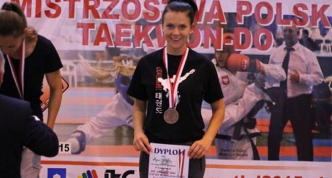 Tomaszowska policjantka Mistrzynią Polski w Taekwon-do
